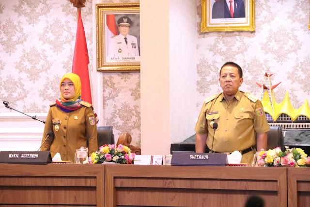 Tangani Corona, Gubernur Lampung Arinal Djunaidi Keluarkan Surat Instruksi