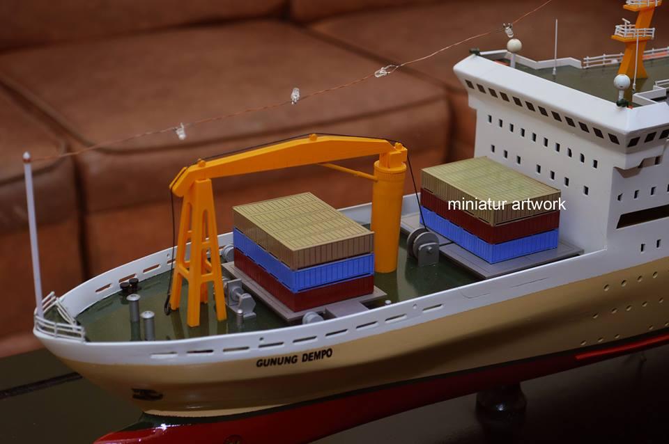 tempat jual miniatur kapal km gunung dempo pt pelni harga murah rumpun artwork temanggung planet kapal indonesia