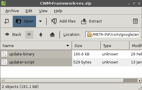 How to extract archives (tar gz, zip, rar, etc) GUI mode on