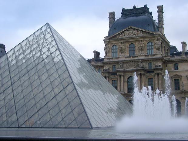 Louvre Pyramid - Famous Places