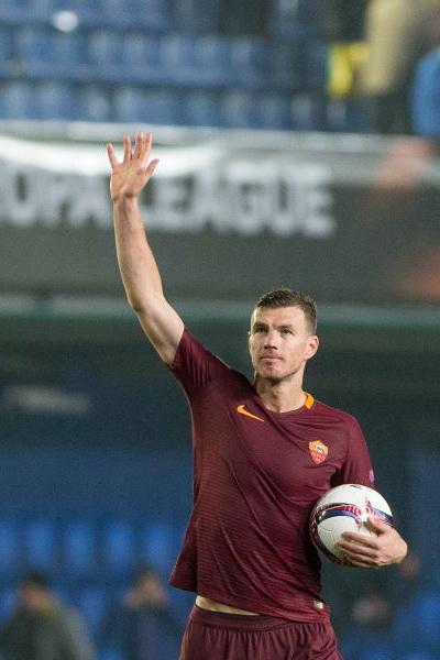Edin Dzeko AS Roma