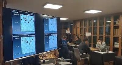 Torneo Magistral Internacional Ciudad de Barcelona 2017, sala de juego 1