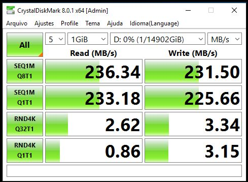 ST16000VN001 sem RAID