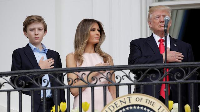 Barron Trump pensó que la imagen de su padre 'decapitado' era real