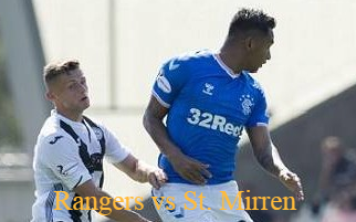 Rangers vs St. Mirren