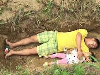 Putus Asa, Ayah Siapkan Kuburan untuk Anak Putrinya