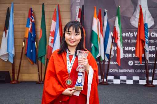 La championne du monde d'échecs Ju Wenjun - Photo © site officiel