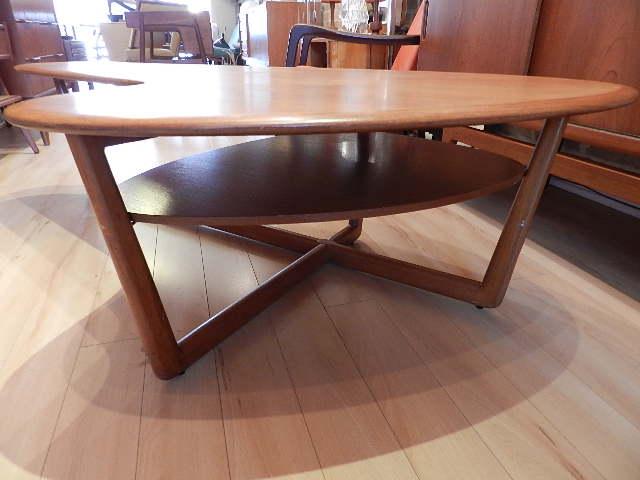 zig zag: Teak Coffee Table - sold