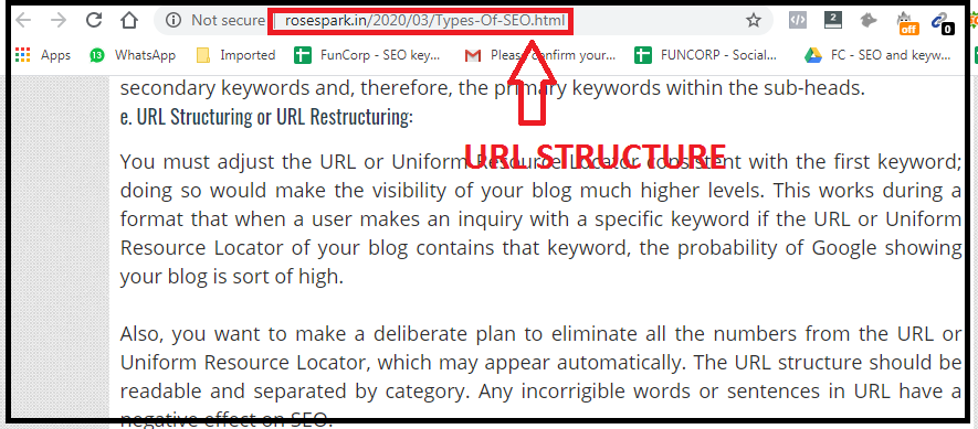 Type Of SEO-URL