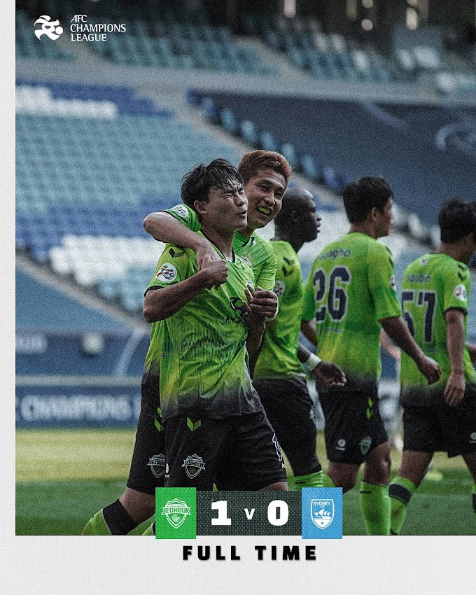 Jeonbuk defeat Sydney FC to keep ACL2020 knockout stage hope alive
