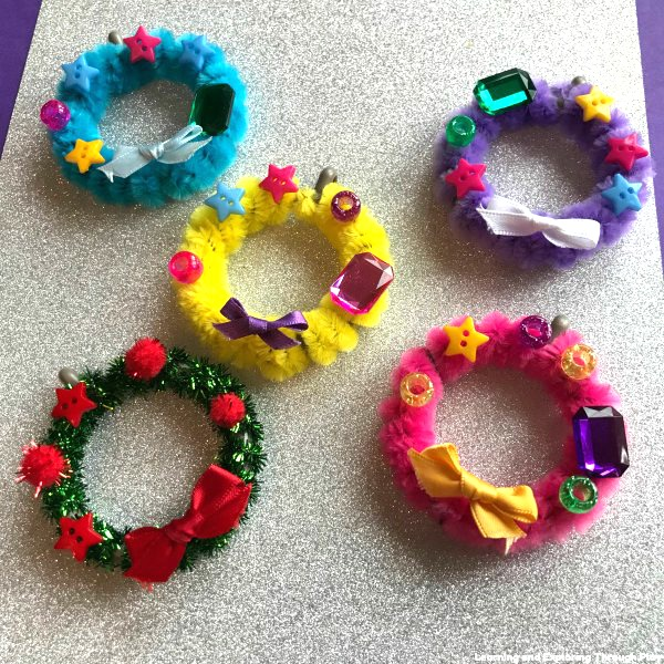 Curtain Ring Craft Activity