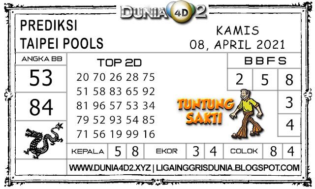 Prediksi Togel TAIPEI DUNIA4D2 08 APRIL 2021