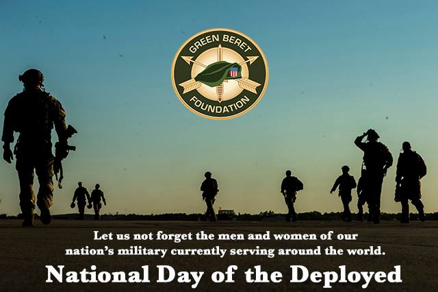 National Day of the Deployed Wishes for Whatsapp