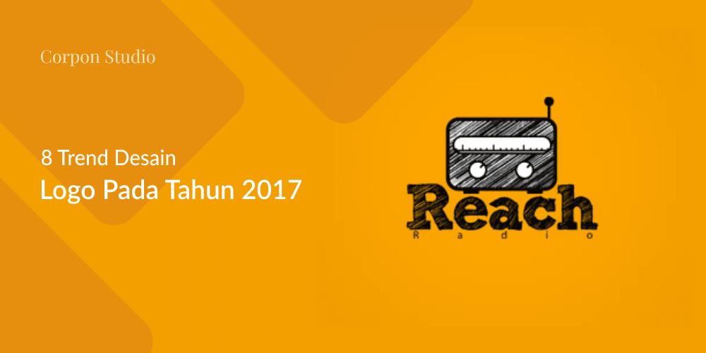 8 Trend Desain Logo Di Tahun 2017