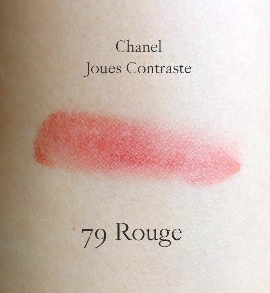 Chanel Joues Contraste Rouge swatch