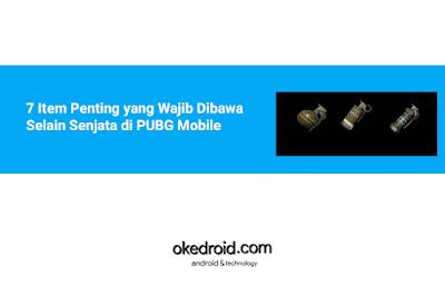 7 Item Penting yang Wajib Dibawa Dimiliki  Selain Senjata Beserta Fungsi Item dan Kegunaanya di PUBG Mobile