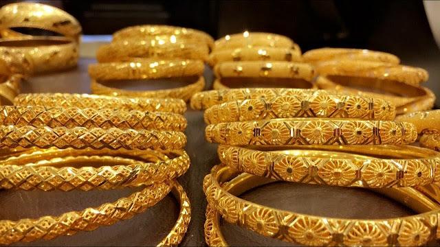 أسعار الذهب فى الإمارات اليوم الإثنين 18/1/2021 وسعر غرام الذهب اليوم فى السوق المحلى والسوق السوداء