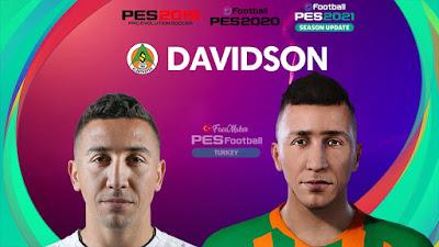 PES 2021 Faces Davidson da Luz Pereira by PES Football Turkey