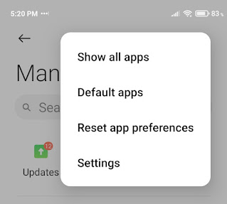 Google Play Services Keeps Stopping - Show hide apps