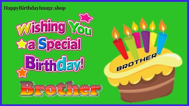 happy birthday brother cake pic