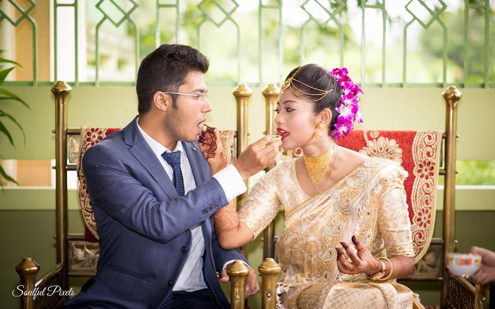 Assamese Wedding Engagement