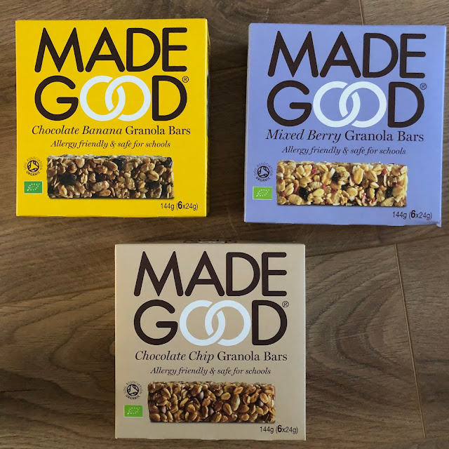 MadeGood Granola Bars review