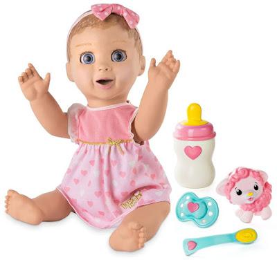 Интерактивная кукла младенец с богатой мимикой лица