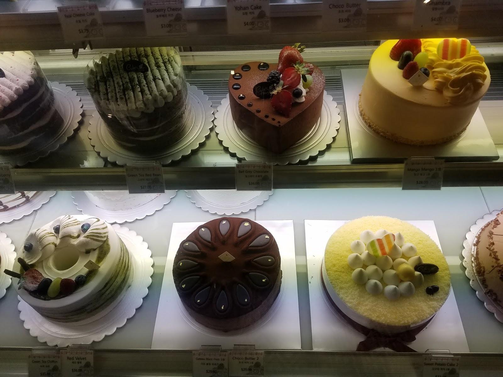 Cake House Buena Park Menu