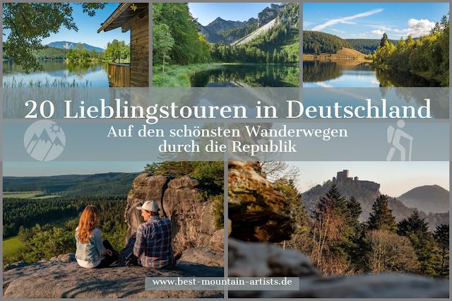 Wandern in Deutschland – 20 Lieblingstouren in der Bundesrepublik   Wanderungen in Deutschland 01