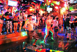 Patong at Songkran