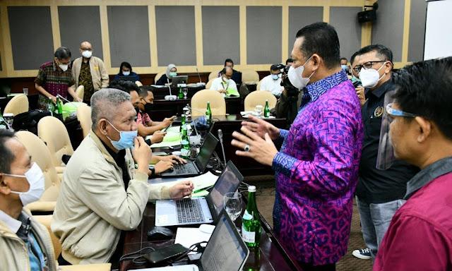 Wartawan Parlemen Jalani Uji Kompetensi