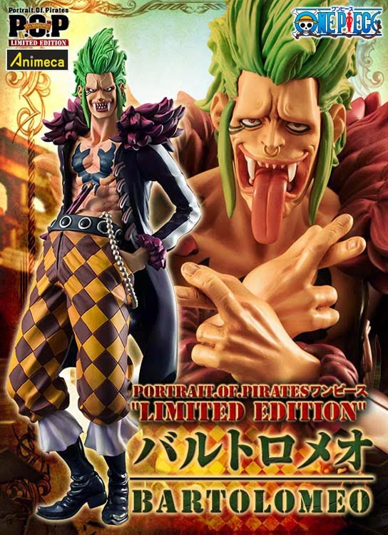 BARTOLOMEO LIMITED EDITION EXCELLENT MODEL P.O.P FIGURE ONE PIECE MEGAHOUSE