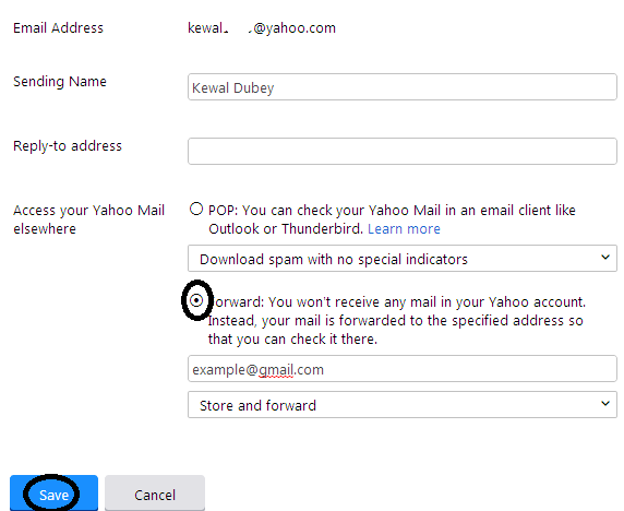 How To Forward Yahoo Mail To Gmail
