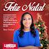Larissa Oliveira deixa sua mensagem natalina