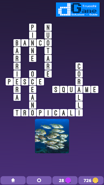 Soluzioni One Clue Crossword livello 3 schema 15 (Cruciverba illustrato)  | Parole e foto