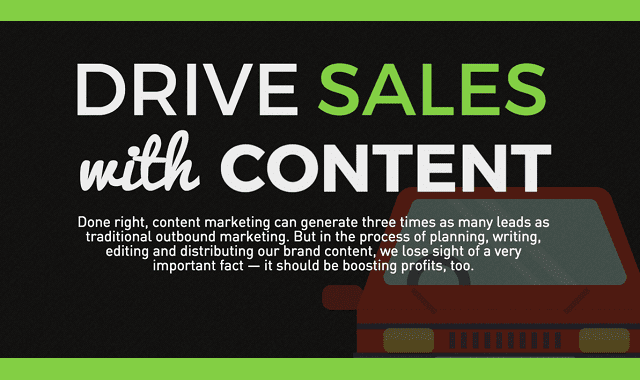 Drive Sales with Content Marketing