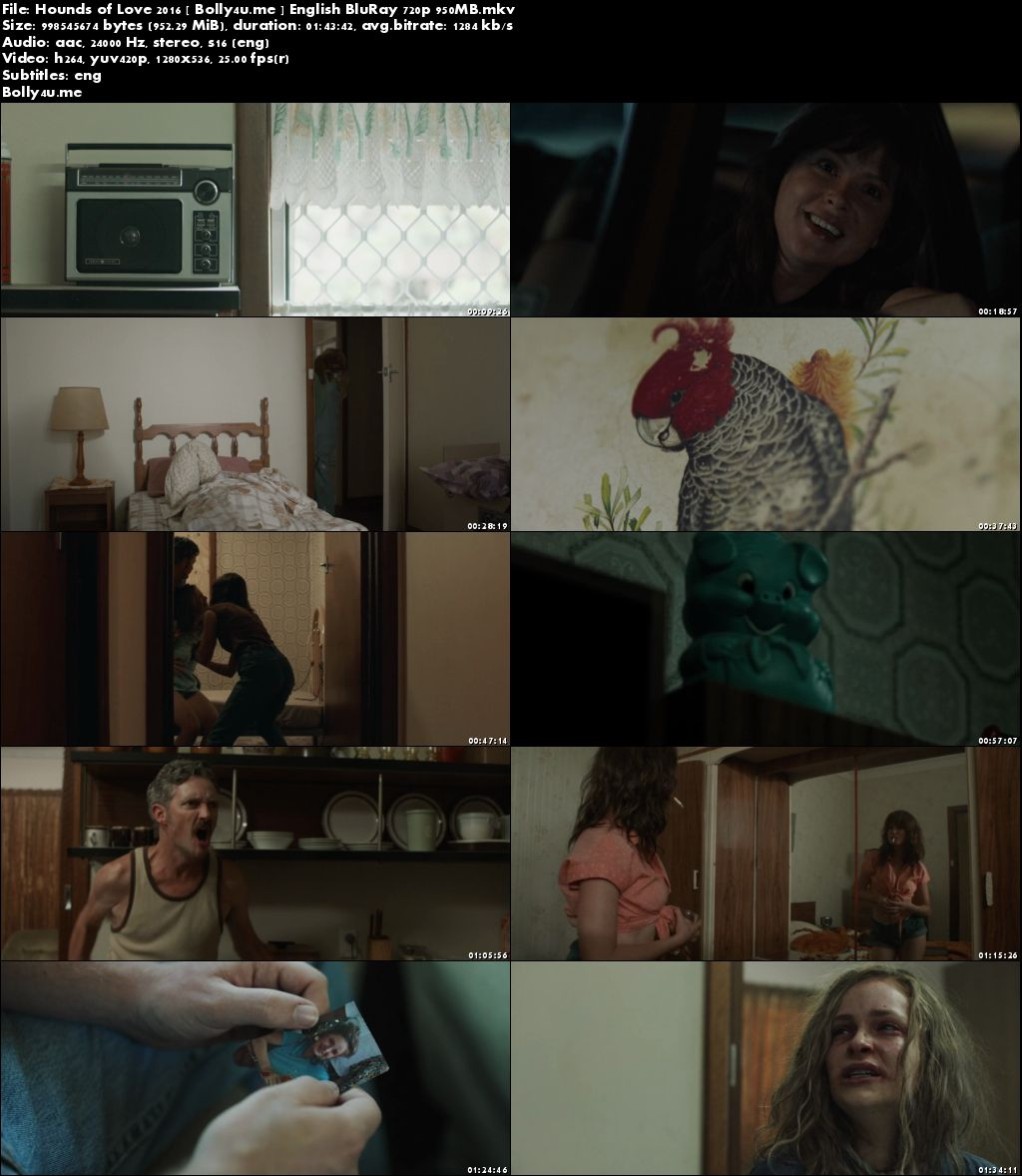 Hounds of Love 2016 BluRay 300MB Full English Movie Download 480p
