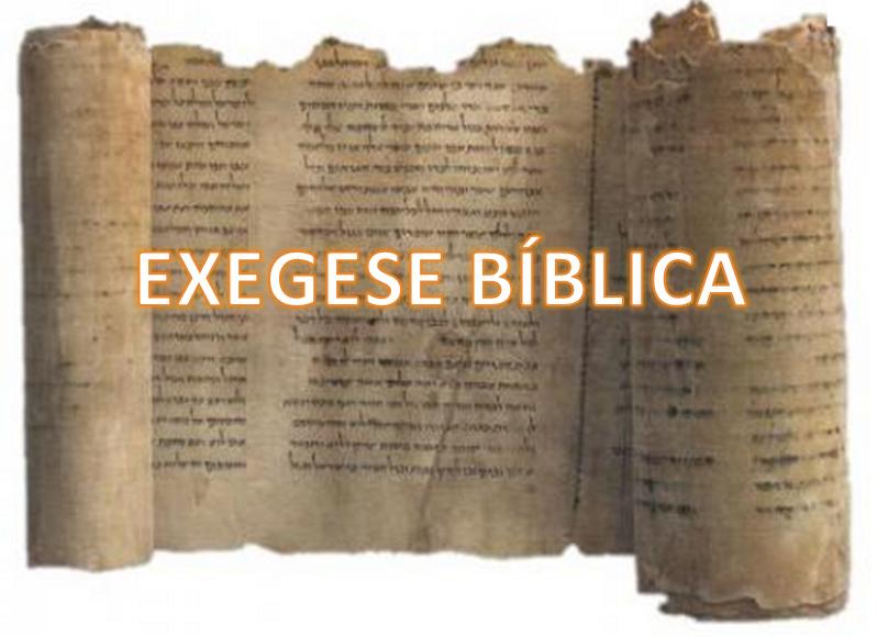 Resultado de imagem para exegese biblica