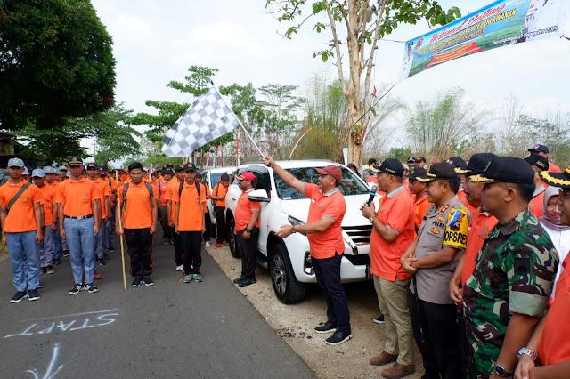 KodimKaranganyar - Napak Tilas Sejarah Kepalawanan Raden Mas Said