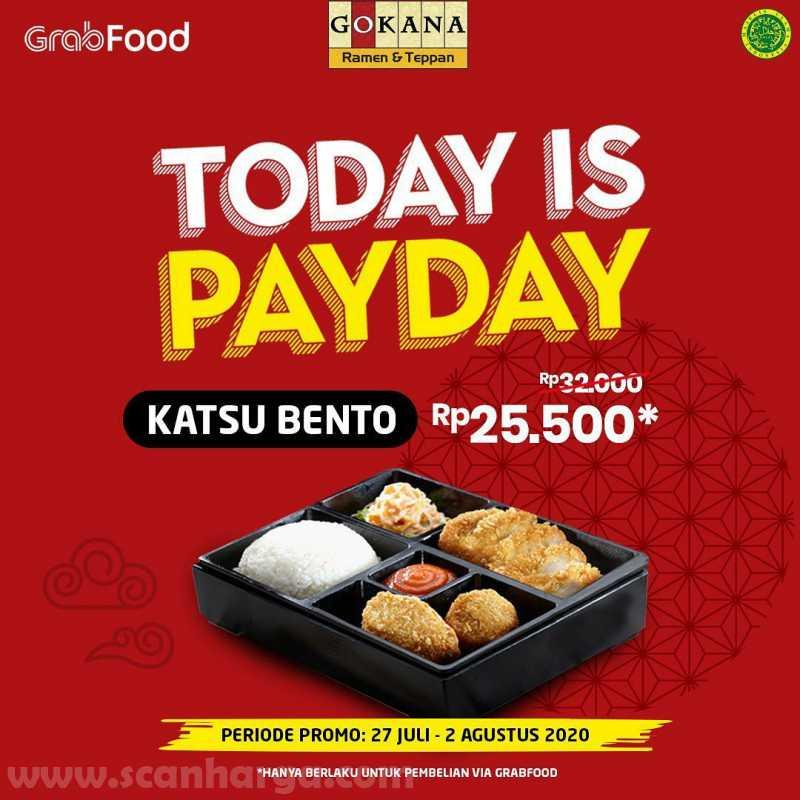 Promo Gokana Payday Periode 27 Juli - 2 Agustus 2020 1