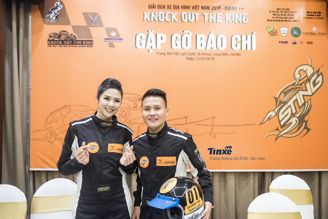 Hoa Hậu Ngọc Hân Và Quang Hải U23