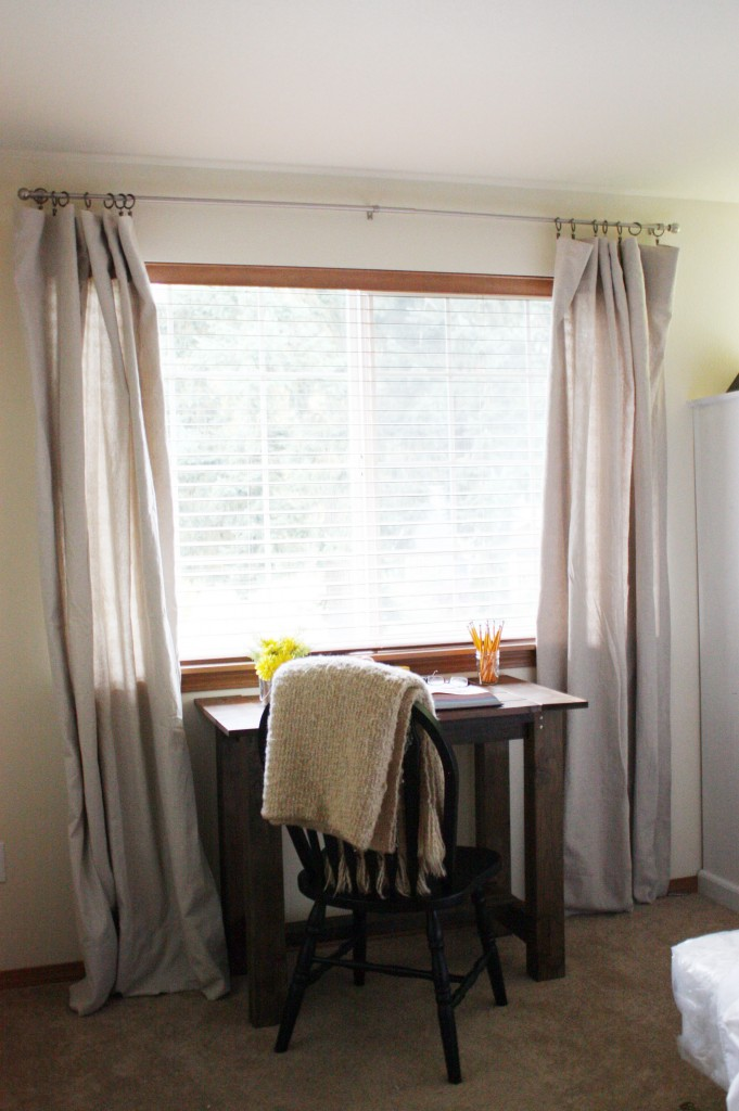 Drop Cloth Curtains Tutorial Beingbrook