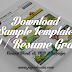 Download 10 Template Resume (CV) Terbaik Dalam Format Word