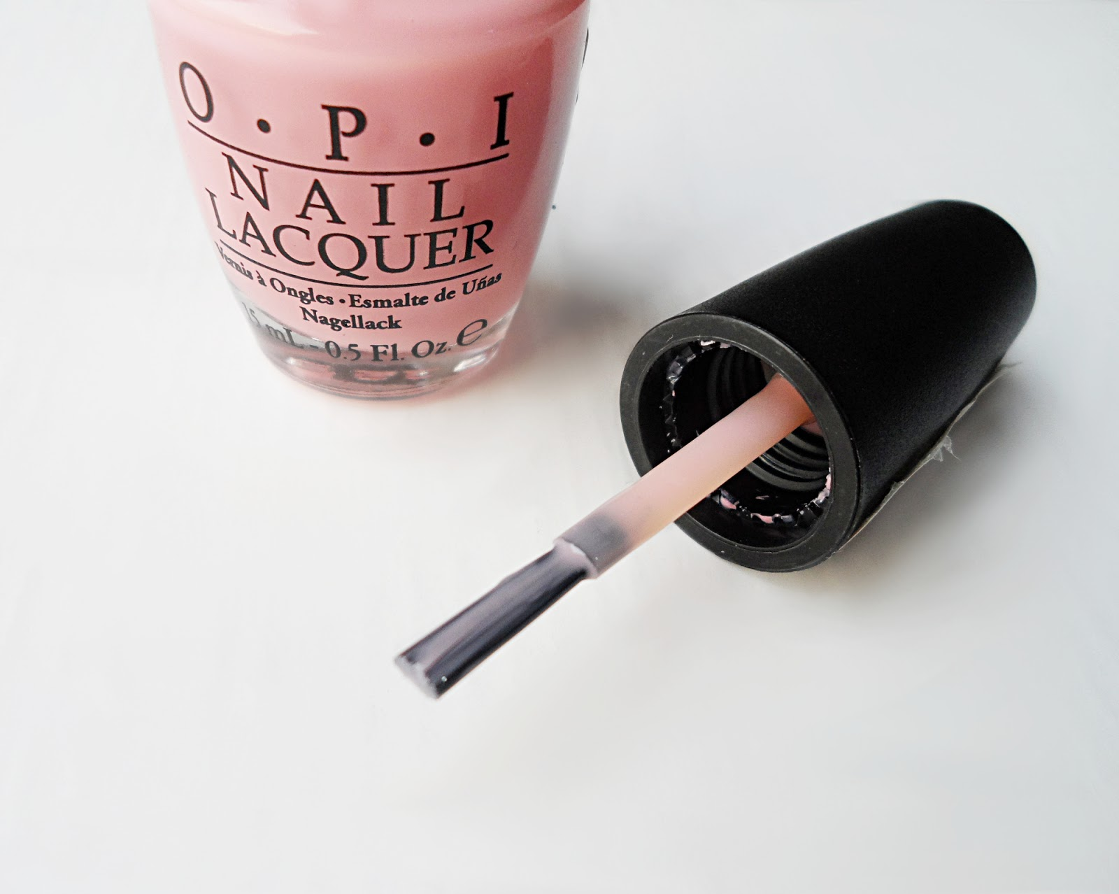 pink nails baby pink manicure opi nails opi classics collection
