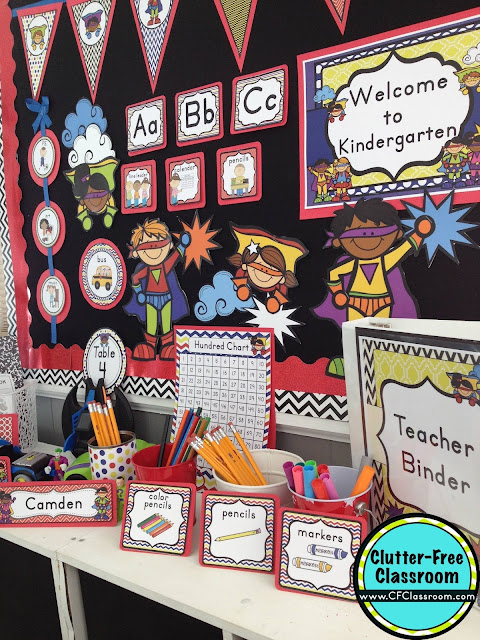 Super Heroes Decor For Classroom ~ Superheroes themed classroom ideas printable