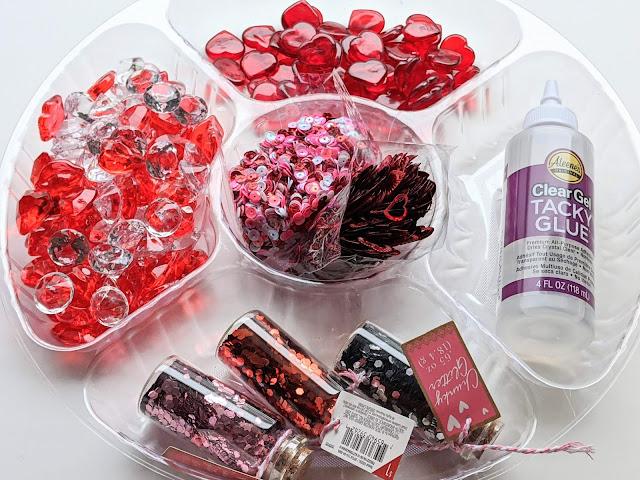 Valentine's Day sensory bottle