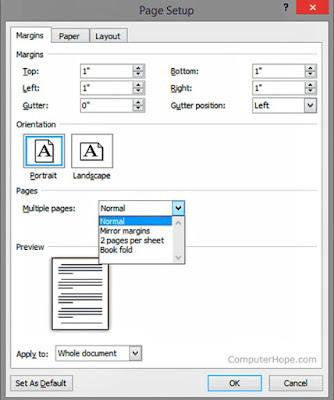 Tutorial Membuat Ukuran Margin Makalah Atau Skripsi Di Ms Word
