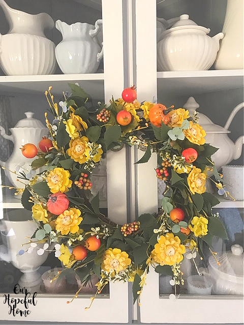 farmhouse DIY fall wreath