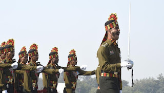 India celebrated the Army Day on January 15th