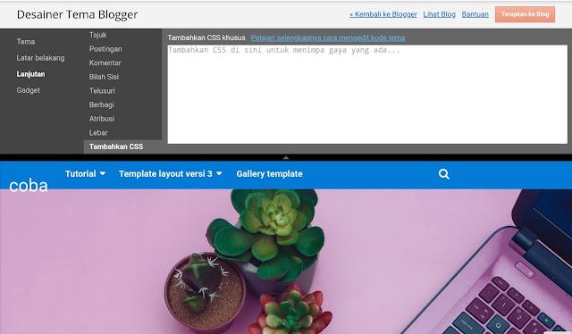 kotak CSS blogger designer